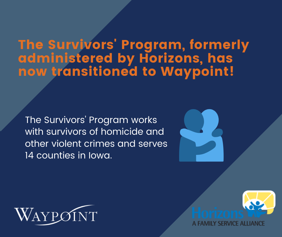 Survivors' Program transitions from Horizons to Waypoint